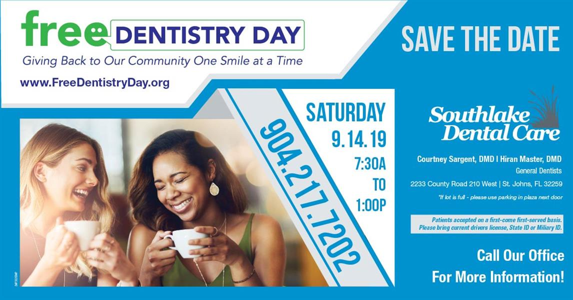 Free Dental DAY - Sep 14, 2019 - St  Johns County Chamber of