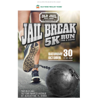6th Annual Jail Break 5K October 30 to Benefit INK!