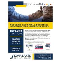 Veteran-led Small Business: Connect with Local Customers on Google