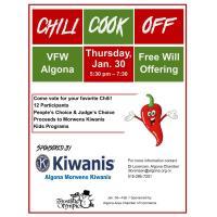 Morwens Kiwanis Chili Cook Off