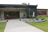 Bishop Garrigan Grades 3 - 12 Campus Entrance