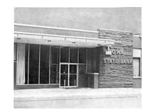 Our 1958 Location, State & Dodge Streets, Algona