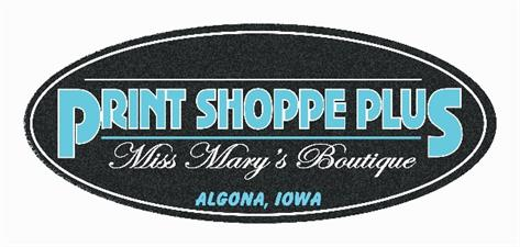 Print Shoppe Plus - Miss Mary's Boutique
