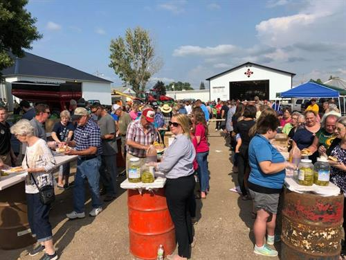 Kossuth County Fair BBQ 2018