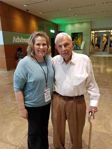 Meeting Henry Bloch, our founder May 2018