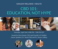 CBD 101: Education, not Hype