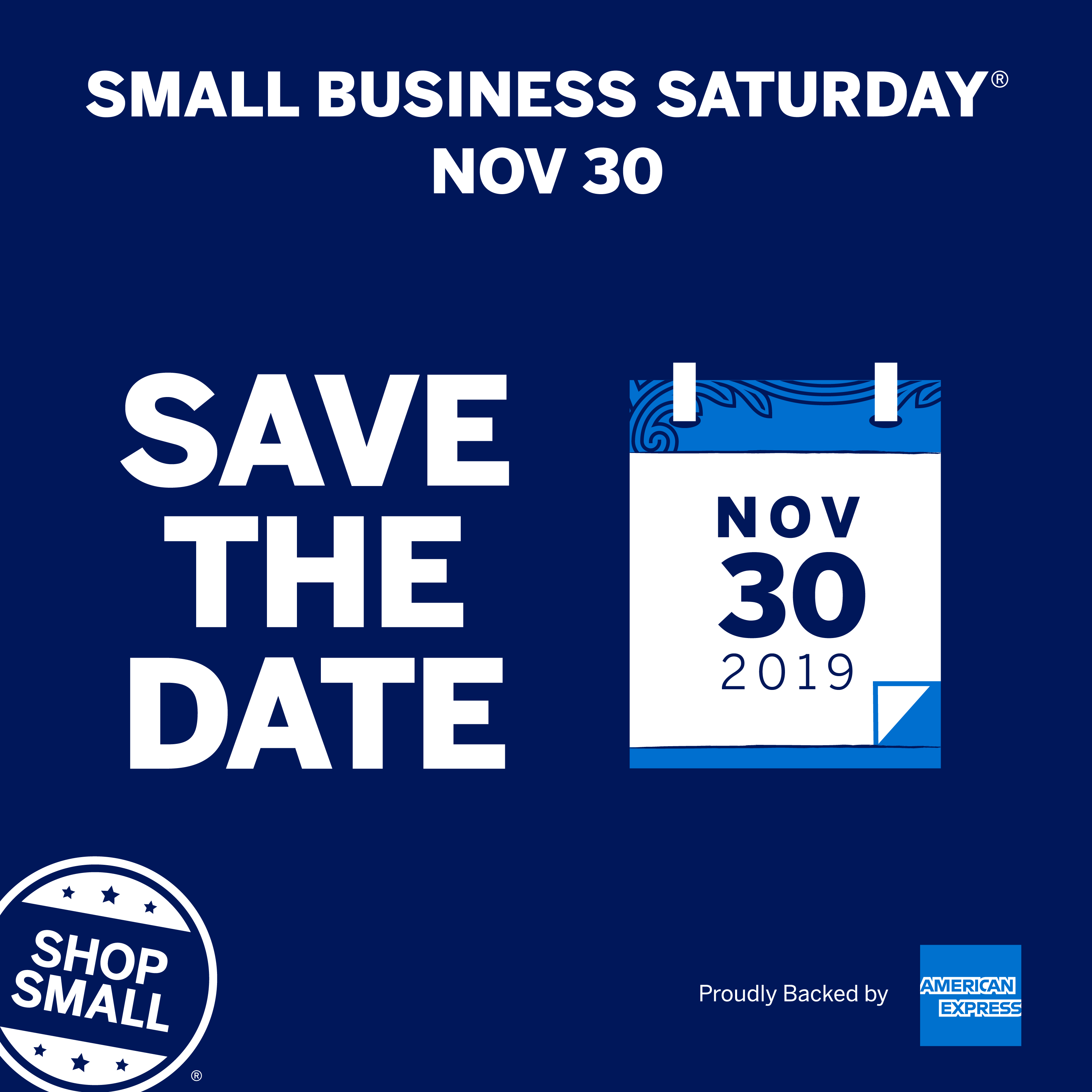 Top tips to get ready for Small Business Saturday®