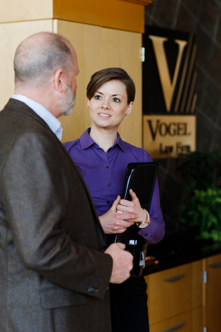 Young Professionals Best Place to Work: Vogel Law Firm
