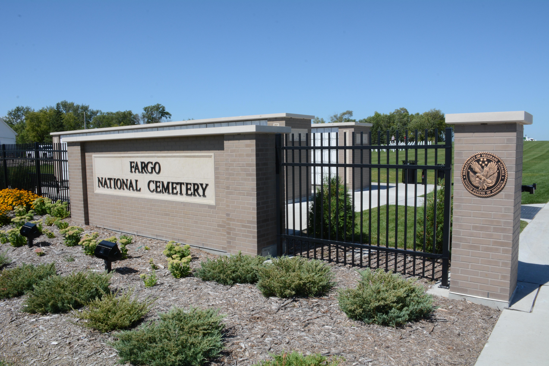 Image for Fargo National Cemetery: Dedicated to honoring veterans