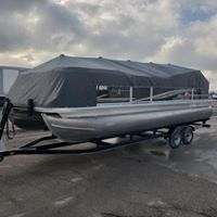 Grey Boat Cover