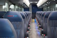 Jefferson Lines Bus Interior