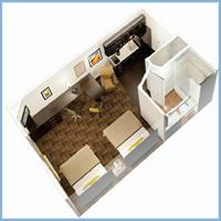 Double Suite Layout