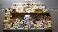 93 Brand New Stuffed Animals donated by the Employees @ Tech Mahindra to the Children @ Sanford Children's Hospiital on National Teddy Bear Day.  Employees also donated several craft items for the play room as well.