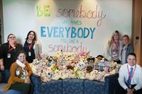 National Teddy Bear Day Donation to Sanford's Children's Hospital.