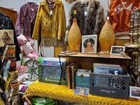 Vintage & Retro Fashions, Vinyl Records, Mid-Century Modern Lamps