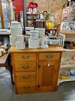 Antique Furniture & Crocks