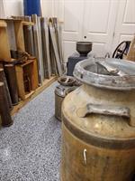 Barn wood, Bead Board, Reclaimed Windows, Doors, & Salvaged Wood; Cream Cans