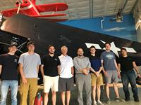 Some of the team at Joes for G.I.'s at the Fargo Air Museum