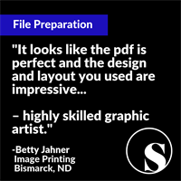 Brochure File Preparation Review from Print Shop - Image Printing - Bismarck, ND