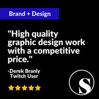Branding + Design for aspiring Twitch Streamer Mr_Rage - Derek Branly