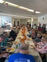 Thanksgiving dinner 2019 in Minot
