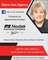 Alana Joos - Career Agent Nodak Insurance Company