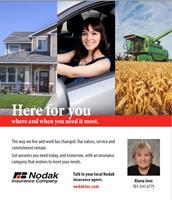Alana Joos insures your home, auto, family, farm, ranch, and business