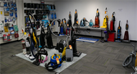 We carry a wide variety of New & Used vacuums in stock.