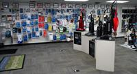 Large stock of parts and accessories for all brands.