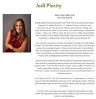 Jodi's bio