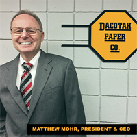 Matthew Mohr - President & CEO of Dacotah Paper Co