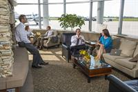 Fargo Jet Center Lobby