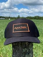 AMDAK Productions Leatherette Patch Cap