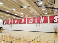 MSUM DRAGONS Gym Banners