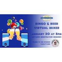 Virtual Mixer - Bingo and Beer sponsored by Takos & Beer