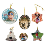 Ceramic Ornaments, Color Imprinted (Sublimation)