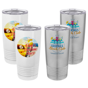 Stainless Steel Full Color Tumblers (Sublimation)