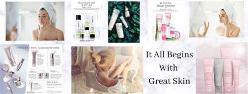 It all begins with great skin