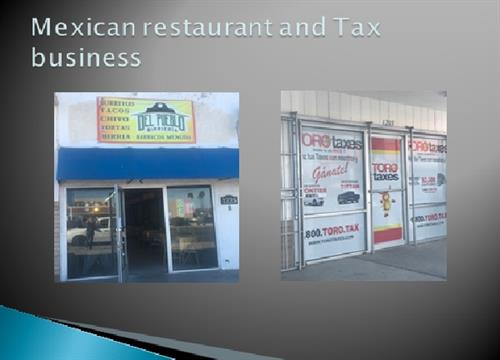 Retail lease spaces