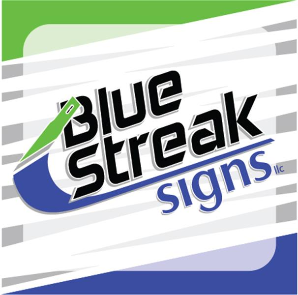 Blue Streak Signs