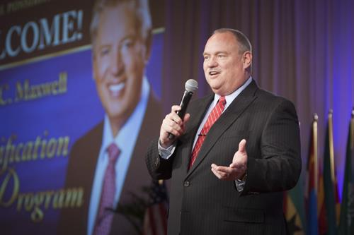 Speaking at the International John Maxwell Certification event