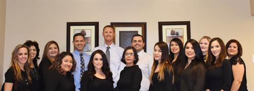 The Gila Ridge Dental Team