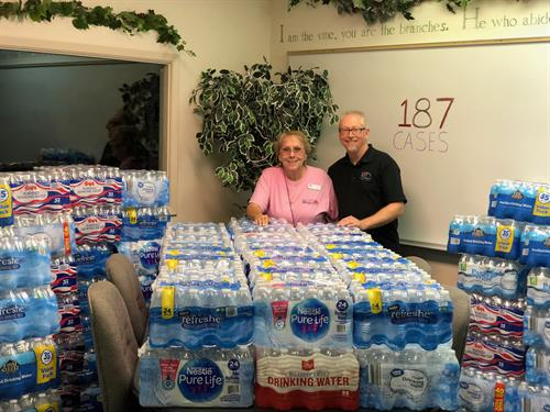 Helping Our Community! (Crossroads Mission - Water Drive)