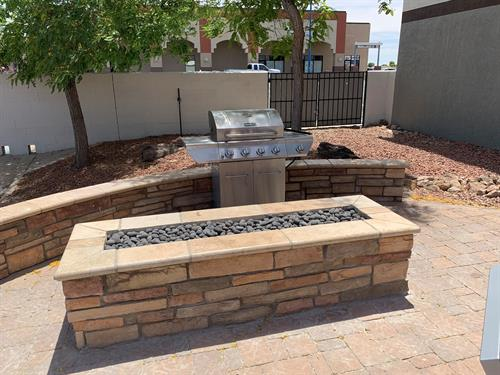 POOL, FIRE PIT &  BBQ AREA