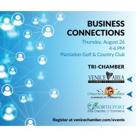 Tri Chamber Business Connections - August 2021