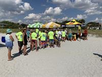 Venice Beach Party Event Tent