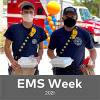 Celebrating EMS workers, 2021