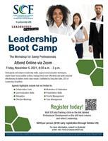 Leadership Boot Camp - The Workshop for Savvy Professionals at SCF