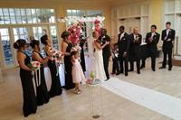 Boca Royale was the perfect location for this beautiful RomanticVows.com ceremony.