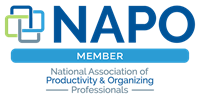 Member of NAPO (National Association of Professional Organizers)